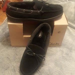 Clark's men slipper